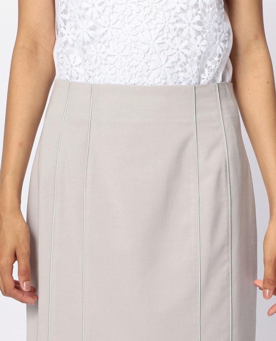 キュプラポリエステルタイトスカート