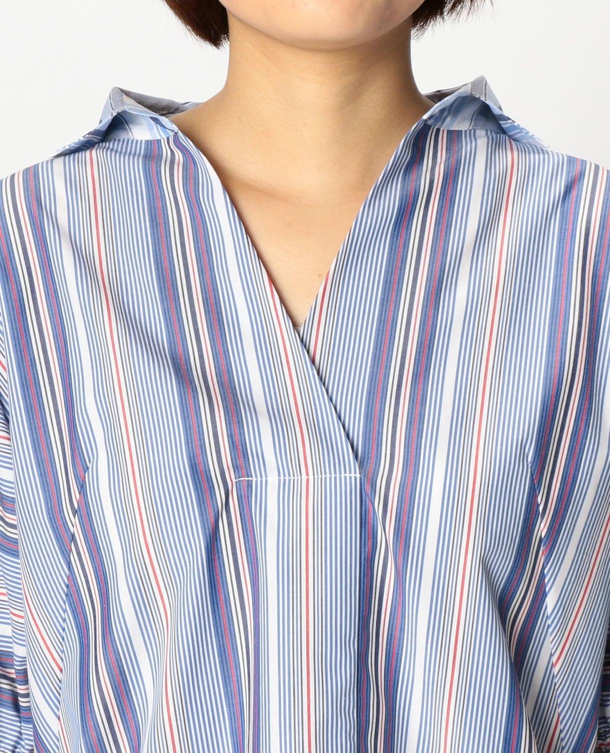 ハイブリッド七分袖シャツ