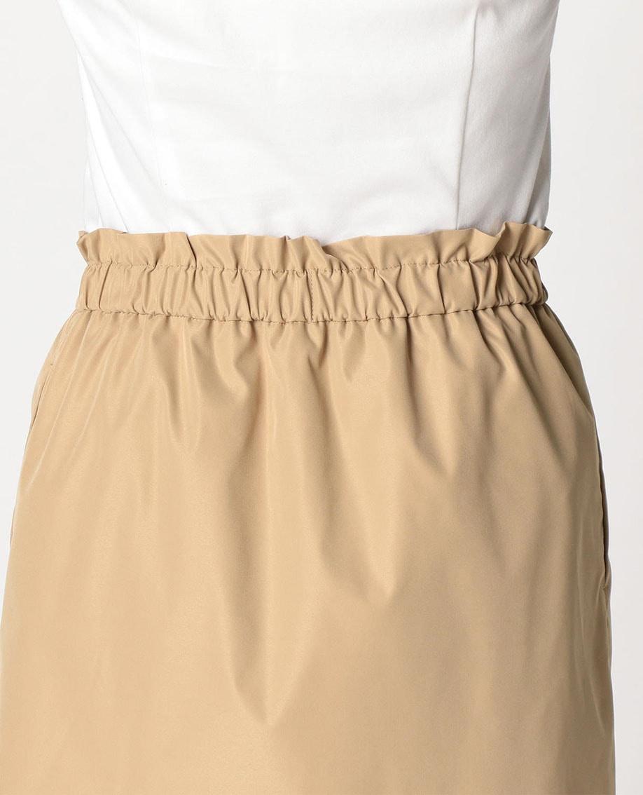 ポリエステル巻き風タイトスカート