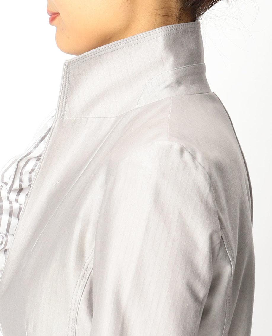ハイゲージストレッチスタンドカラージャケット