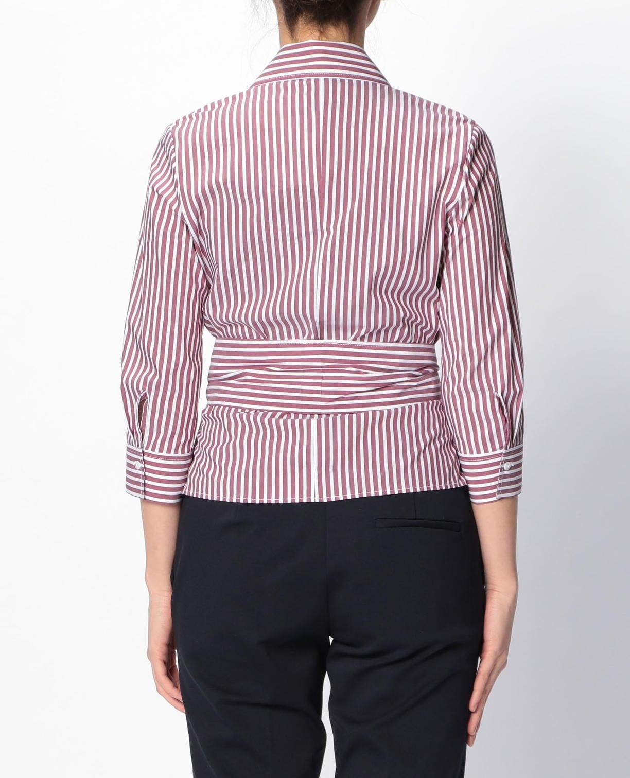 ロンドンストライプカシュクールシャツ