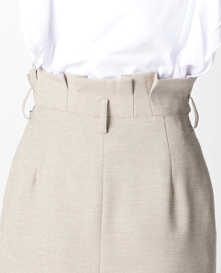 麻調合繊オックススカート