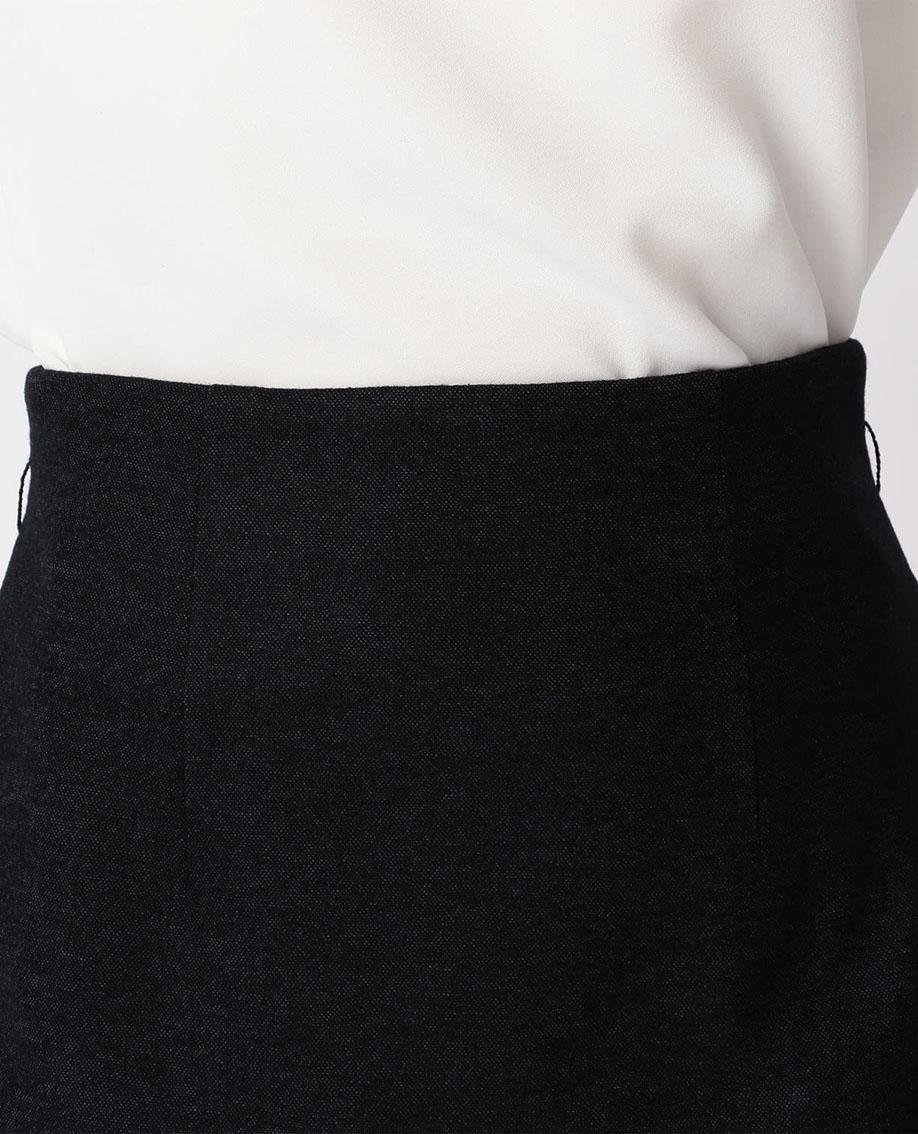 バーズアイサイドスリットタイトスカート