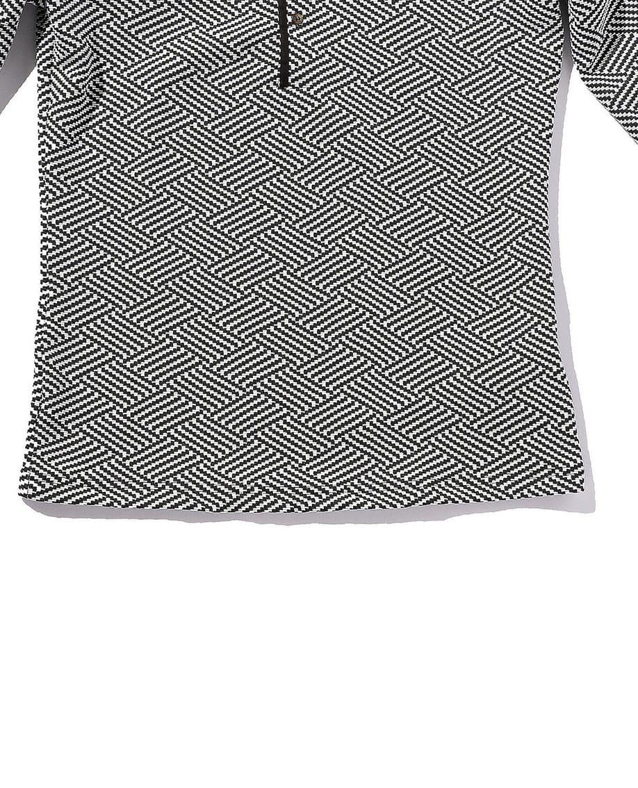 【MEN'S】イタリアンジャージプルオーバーシャツ