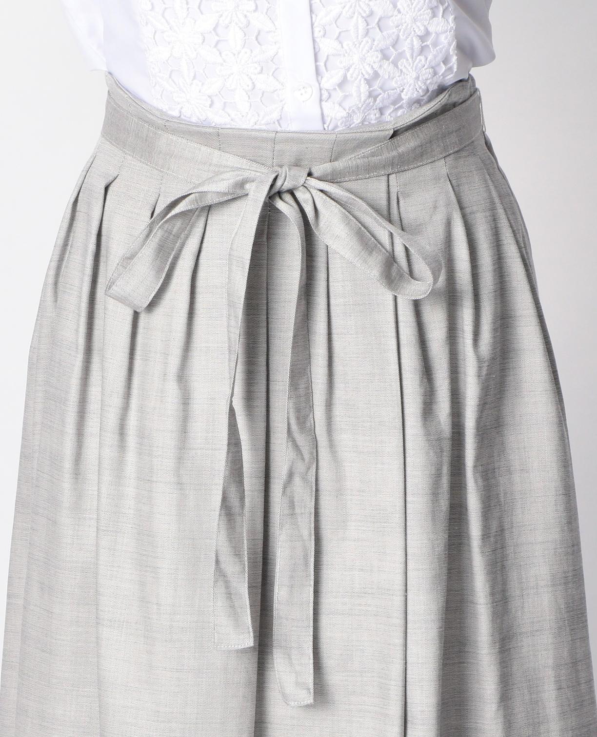 シャンブレーオックススカート