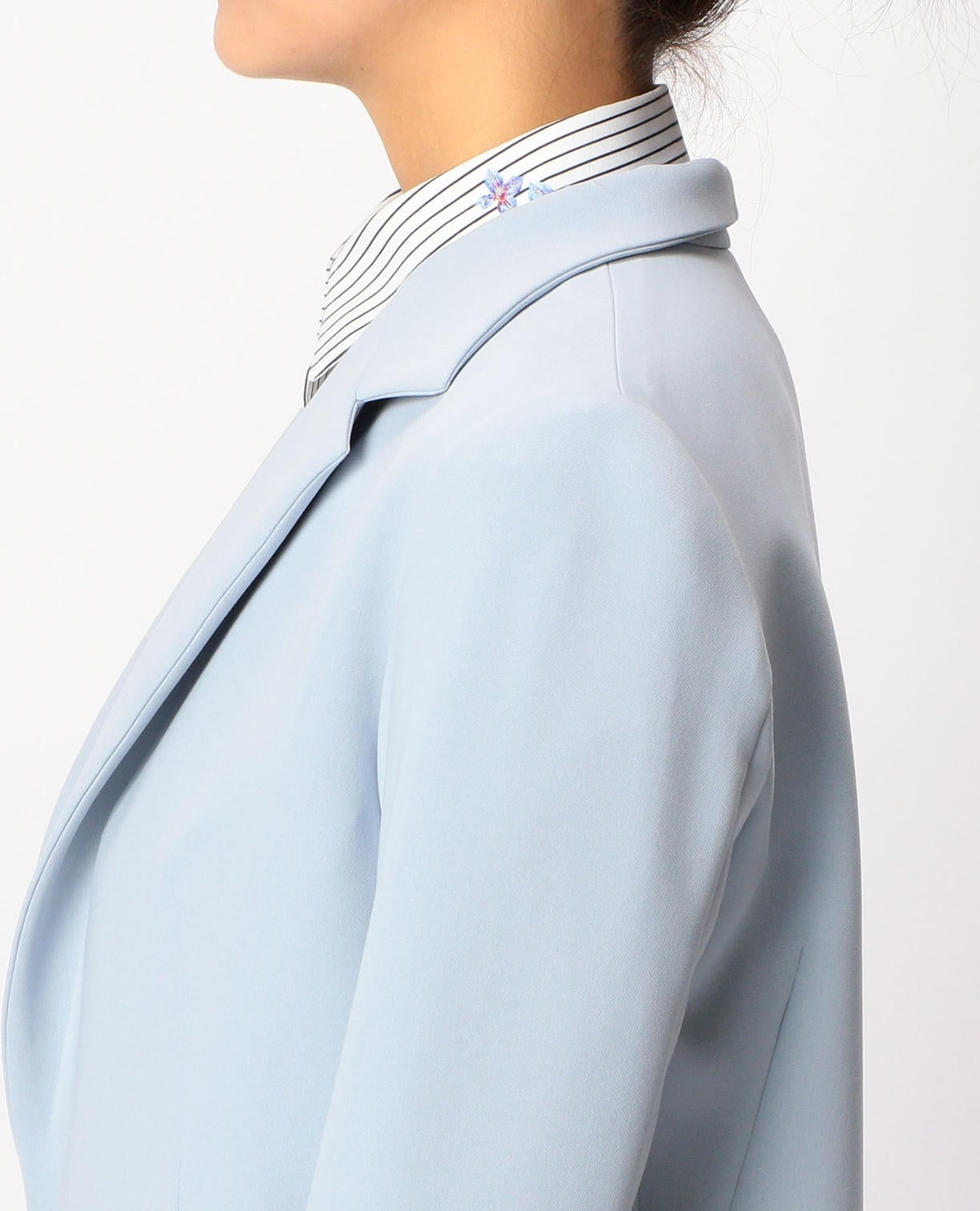 テーラードロングジャケット