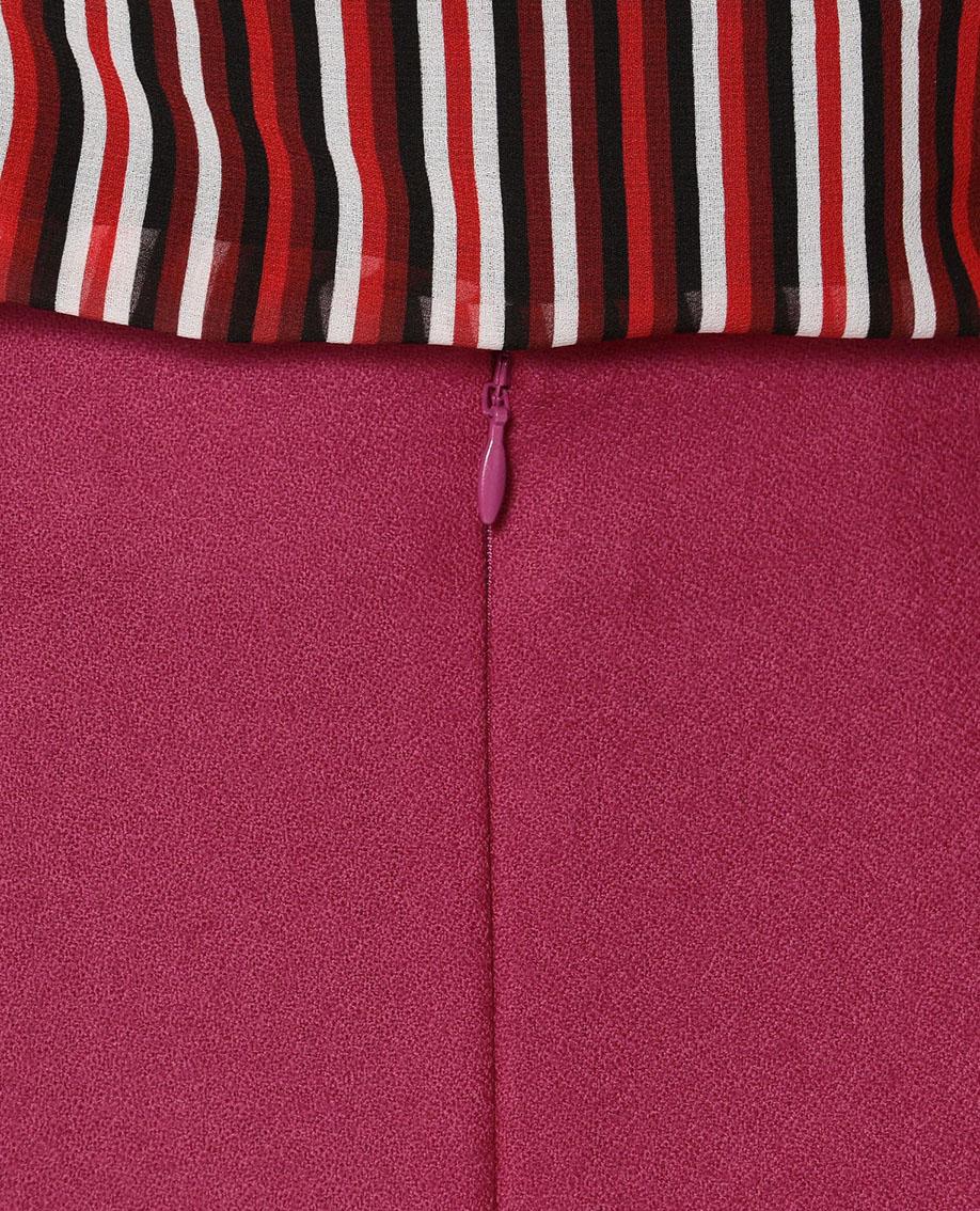 ジョーゼットマーメイドスカート