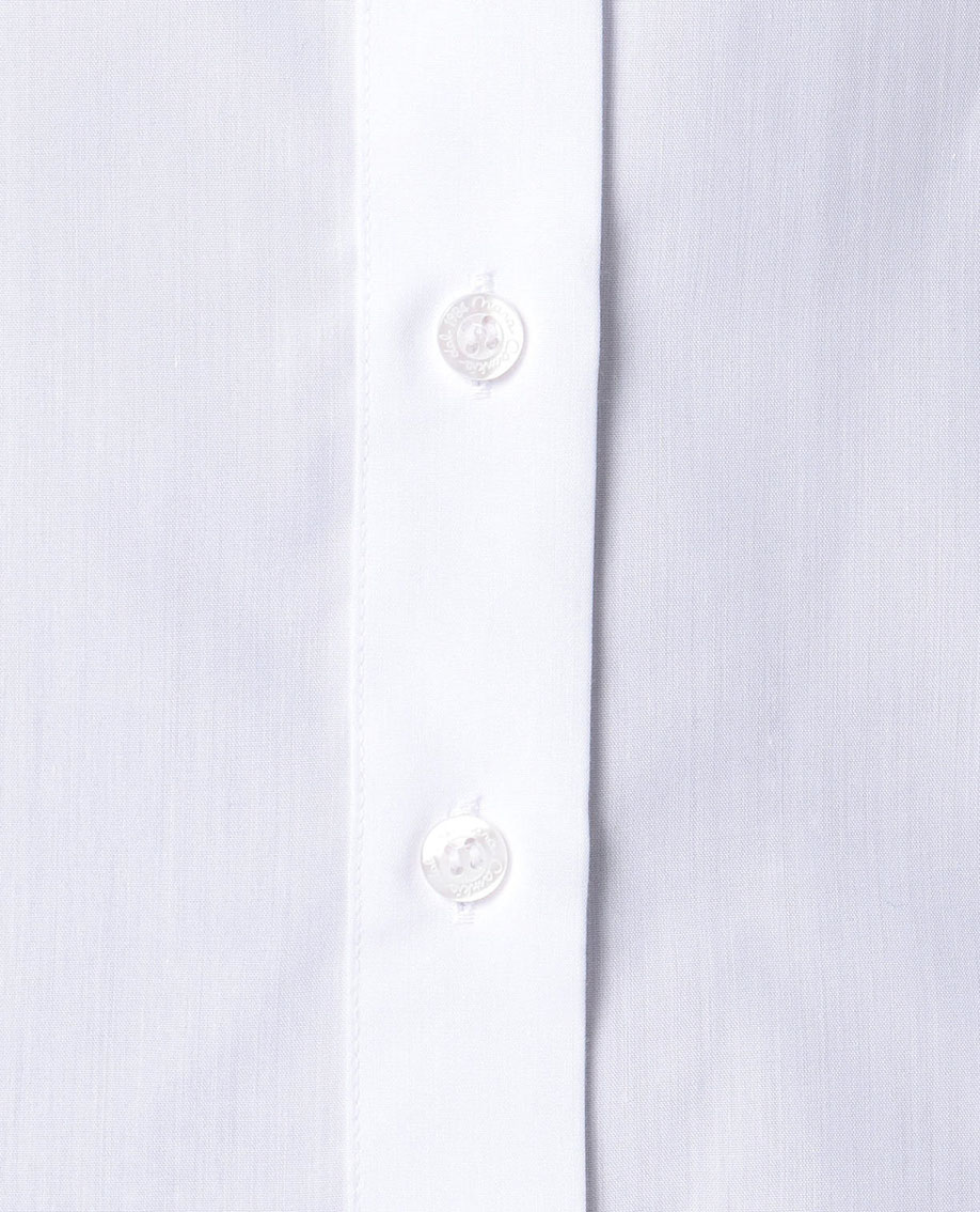 レースヨークフレンチスリーブシャツ
