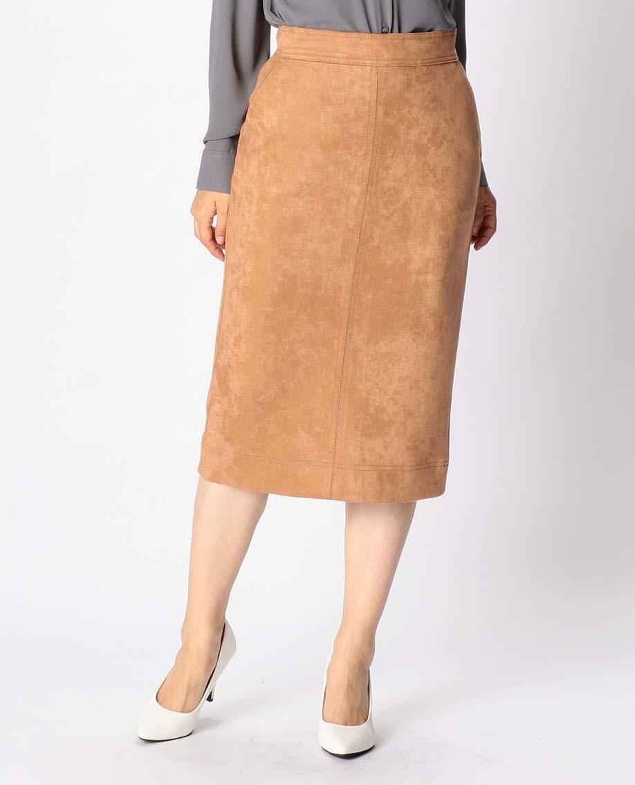 エコスウェードタイトスカート