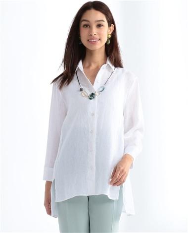 イタリアン麻ビックシャツ