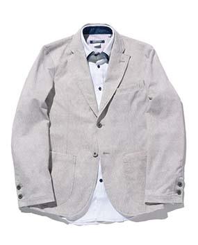 【MEN'S】霜降りプリントジャケット