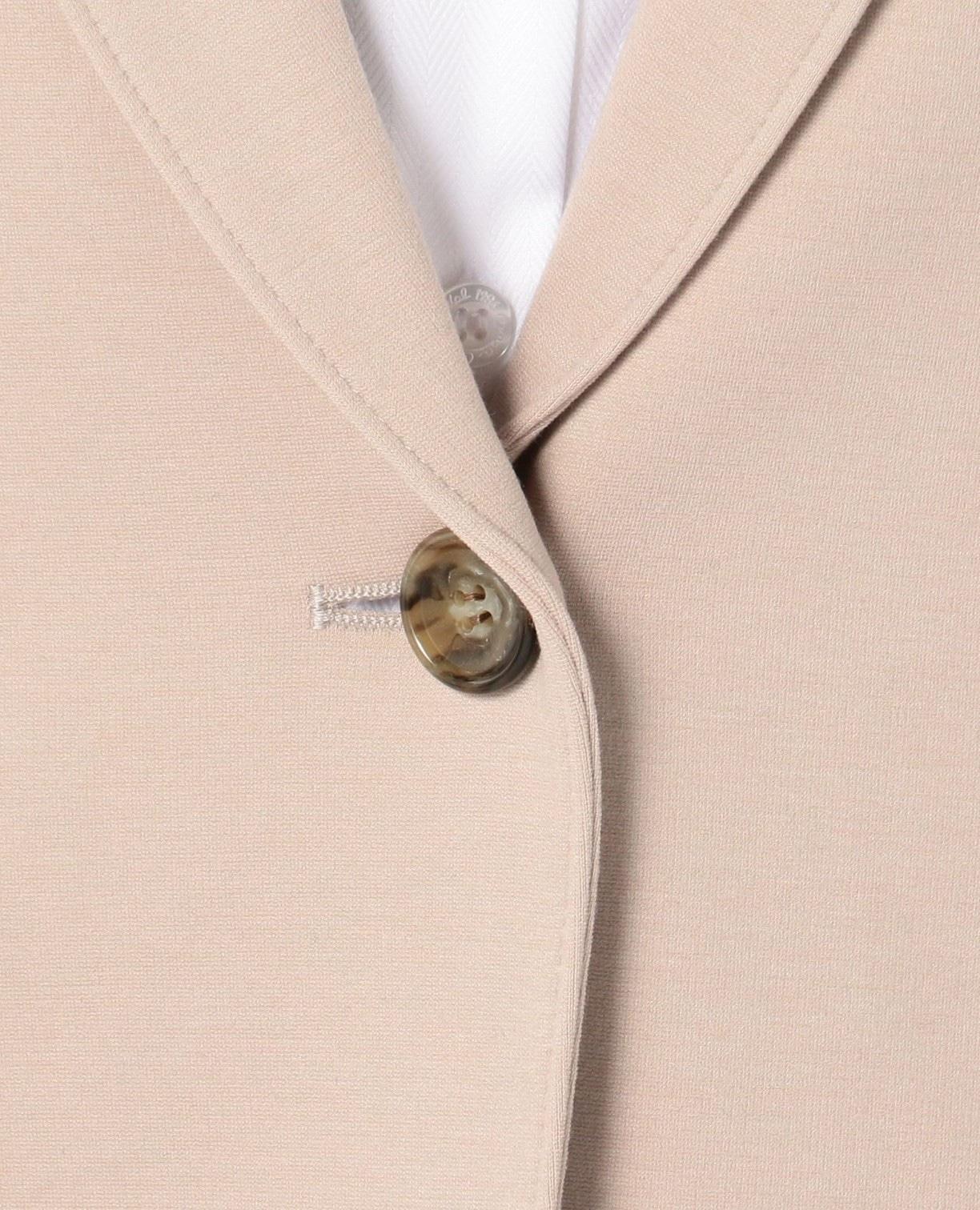 《セットアップスーツ対応》ポンチテーラードジャケット