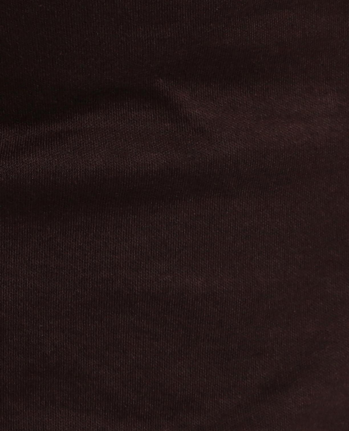 コットンスムースフリル半袖カットソーブラウス