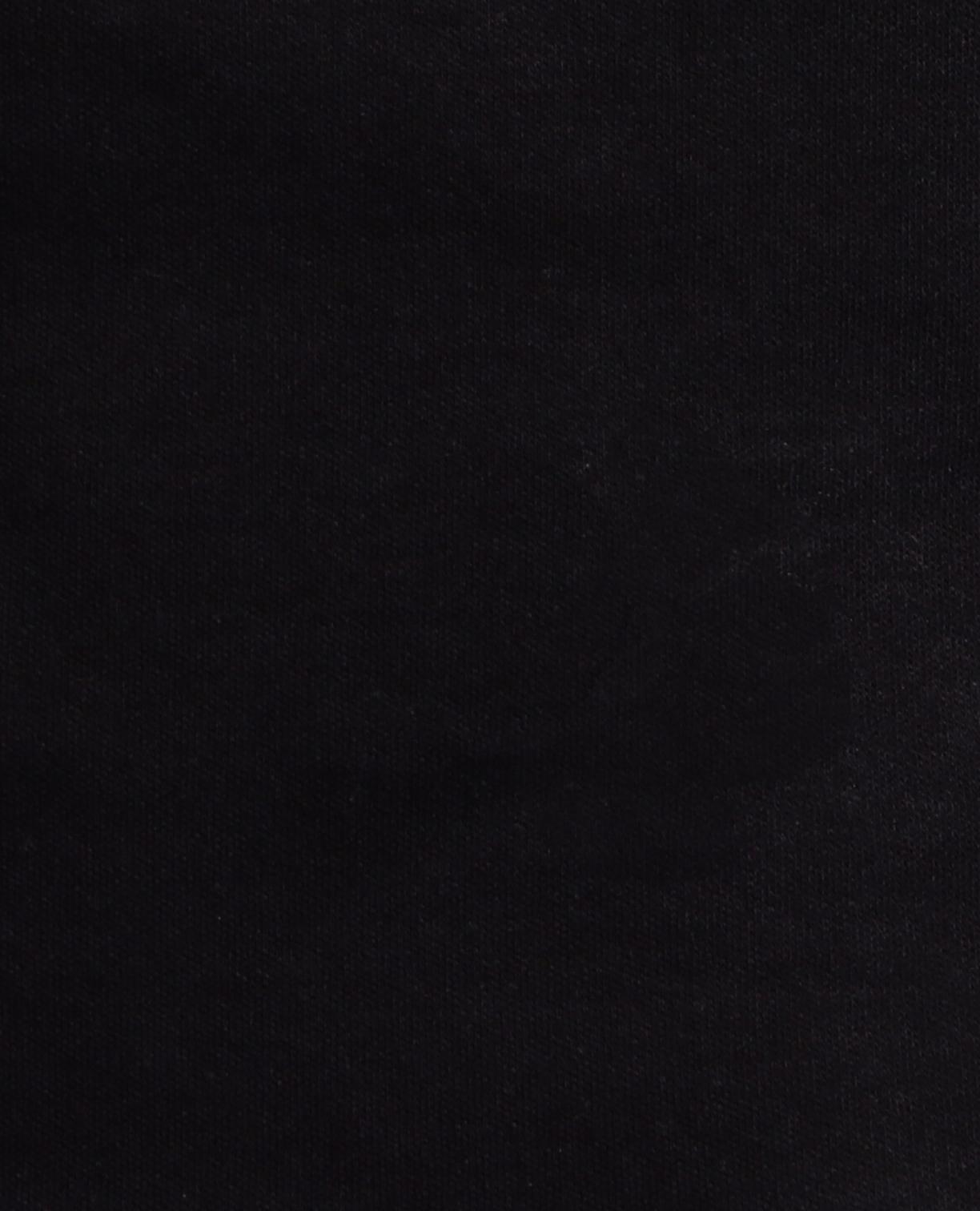 コットンスムーススタンドカラー半袖カットソーブラウス