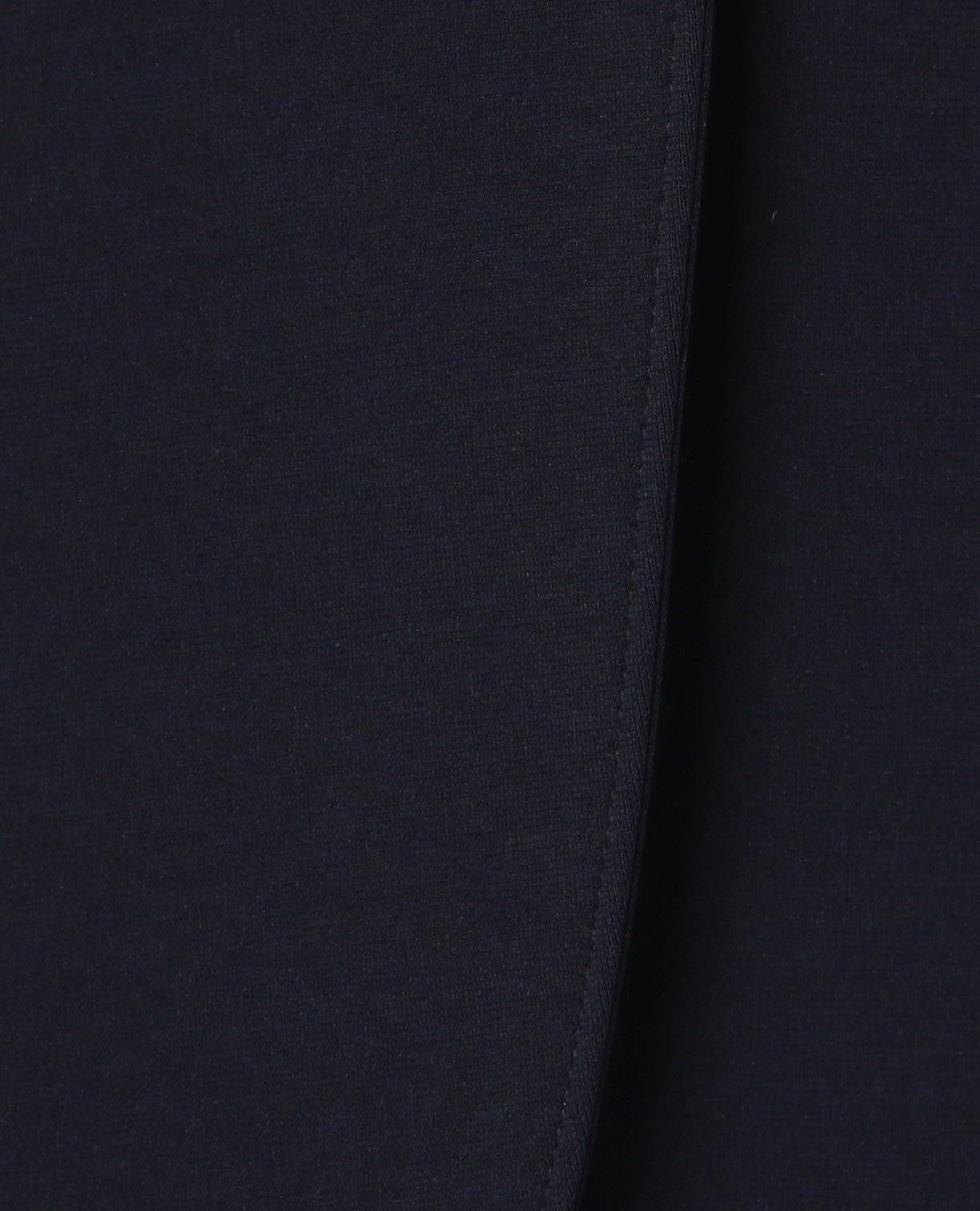 《セットアップスーツ対応》ポンチ長袖スタンドカラージャケット