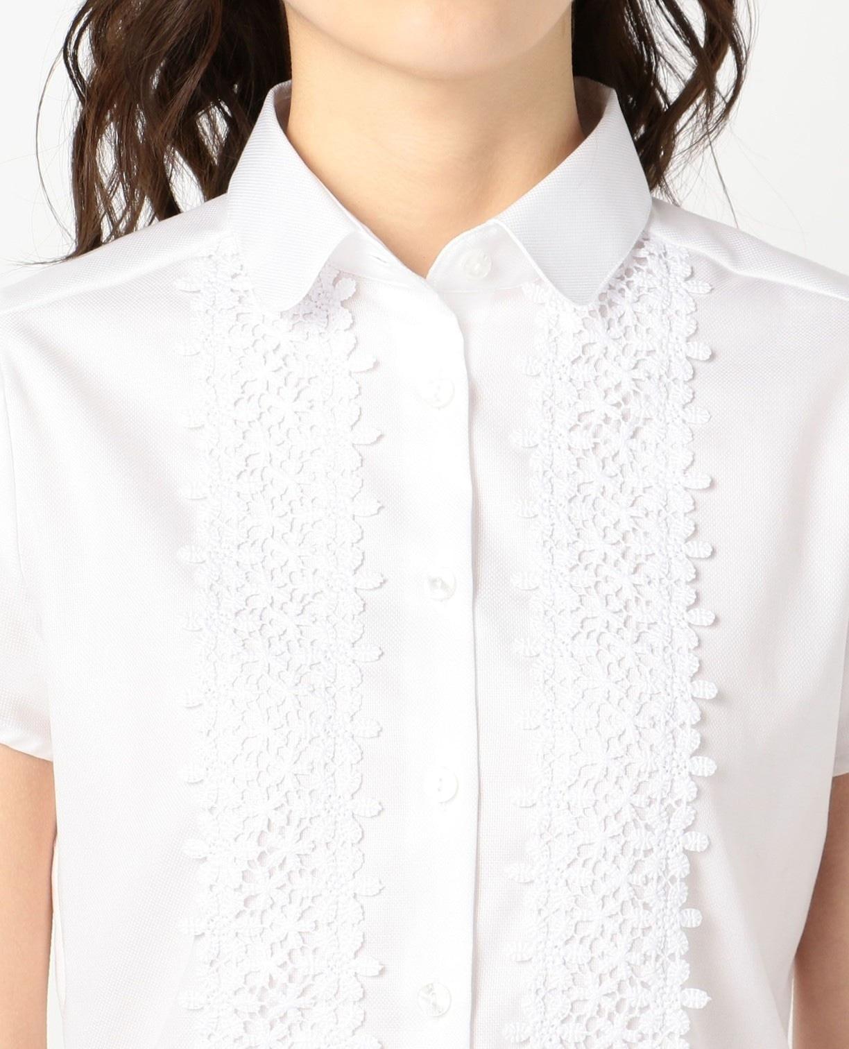フロントレースオックス半袖シャツ