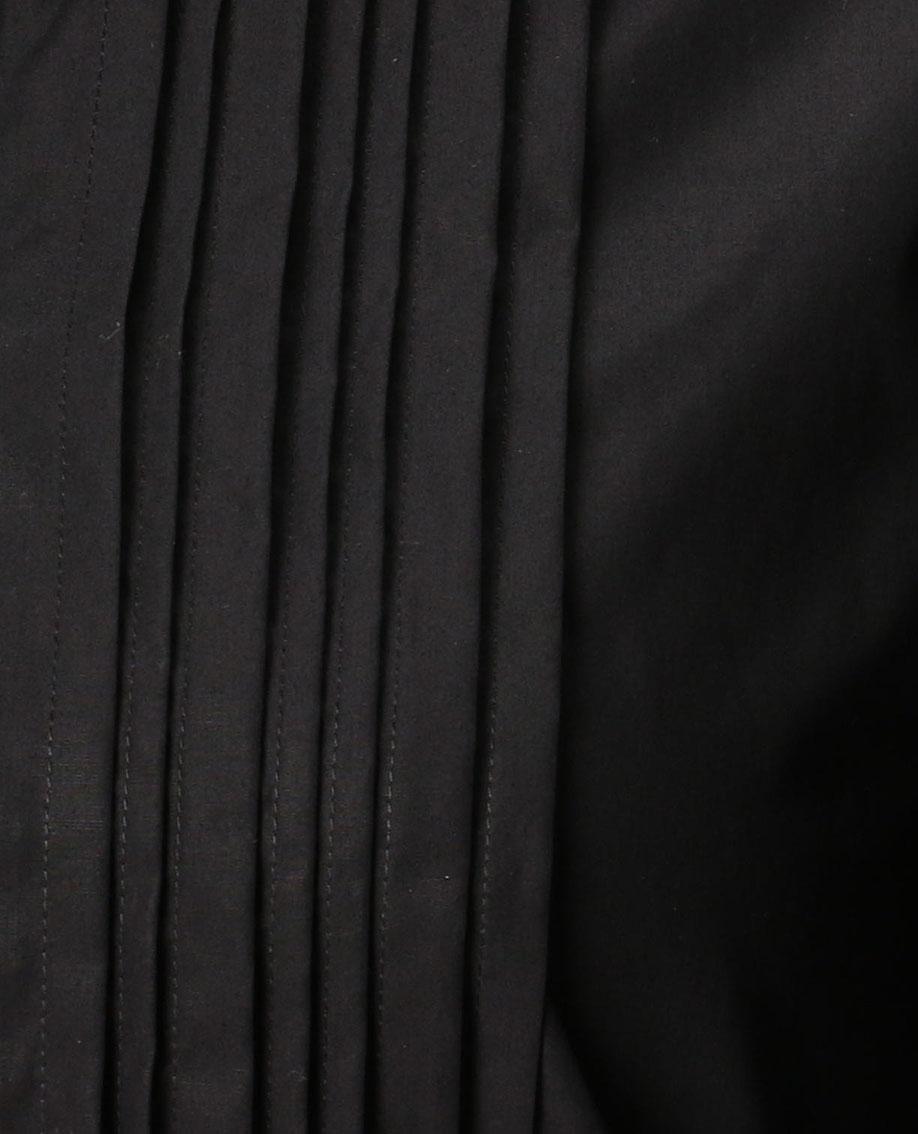 ピンタックタイプライター七分袖シャツ