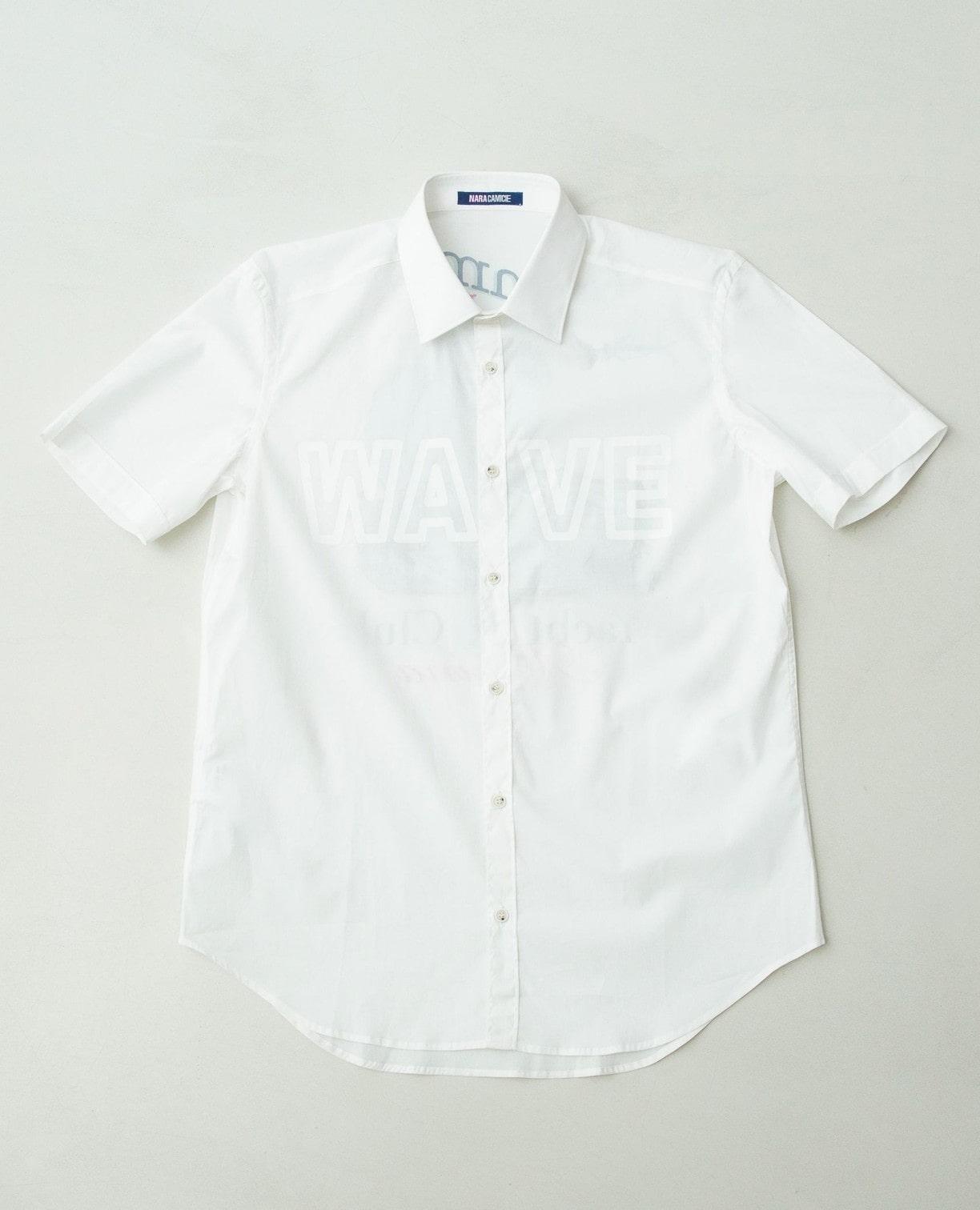 WAVEプリント半袖シャツ