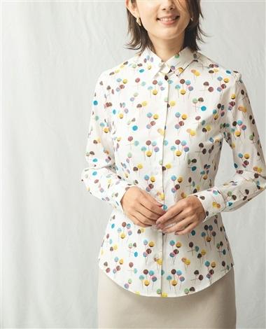 ロリポッププリント長袖シャツ