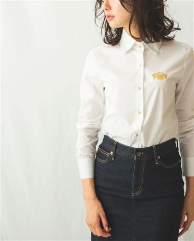 刺繍入りシャツ