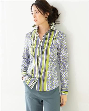 イタリアンストライプシャツ