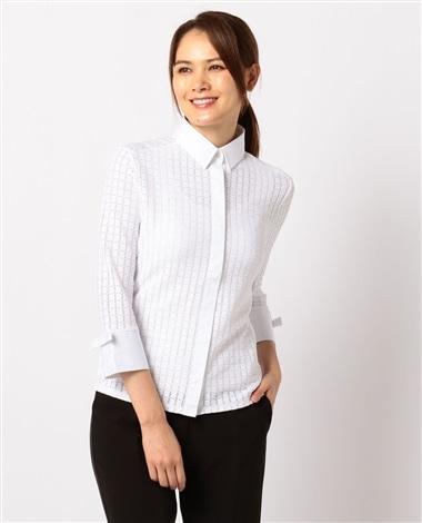 イタリアン七分袖シャツ