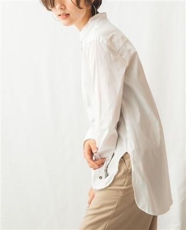 レオパード柄タイ付3WAY長袖シャツ