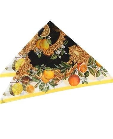 フルーツプリントスカーフ