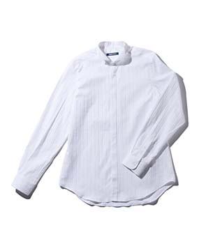 【MEN'S】ウイングカラー長袖シャツ