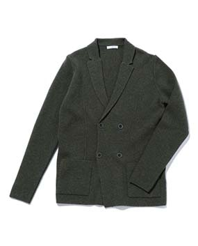 【MEN'S】テーラードニットジャケット