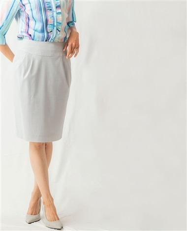 《セットアップスーツ対応》キュプラポリエステルスカート